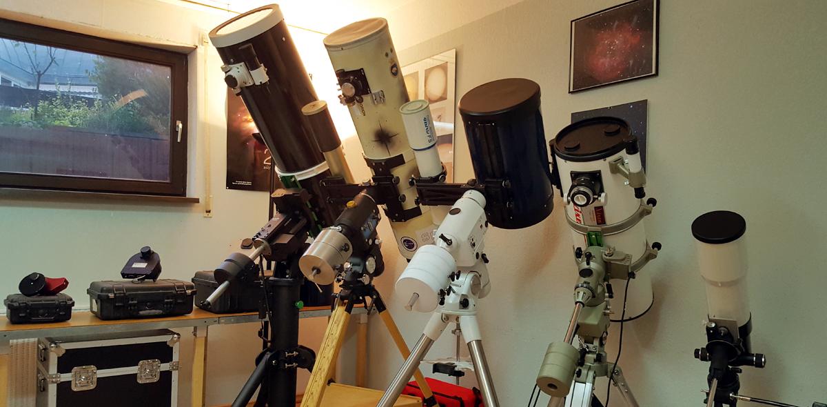 Teleskopgeschäft Innenansicht